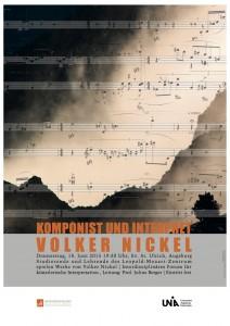 Komponist und Interpret-Plakat