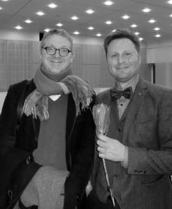 Volker Nickel und Markus (Foto Marlis Neumann) Kopie